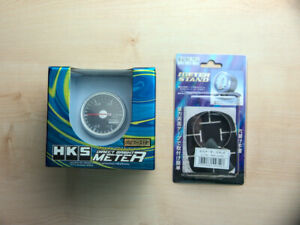 Hks Direct Bright Meter 52mm Boost Gauge Black Panel 4404 ak002