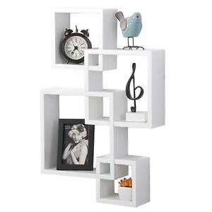 Wood Wall Shelves Display Floating Storage Organizer Funiture Home Decoration