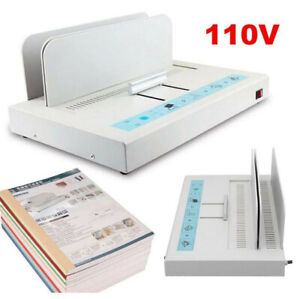 110v New A4 Size Electric Hot Melt Bookbinding Machine Thermal Book Binder