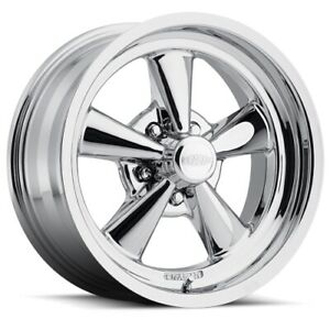 Cragar 610c771242 610c S s Rwd Chrome Wheel