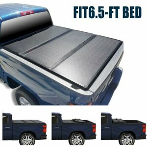 Super Drive Hard Tri fold Cover For 2007 2013 Gmc Sierra 6 5ft 78 Short Bed
