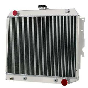 4 Row Aluminum Radiator Fits 1968 1974 73 Dodge Charger plymouth Satellite V8 Jp