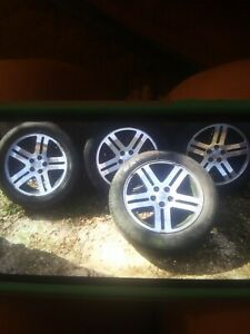 Dodge Rims And Tires 235 55 Tires And 18 Inch Rims