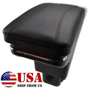 Central Console Armrest Storage Compartment For Honda Fit Jazz 2009 2013