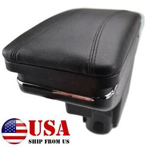 For Honda Jazz Fit 2002 2008 Central Console Armrest Storage Compartment