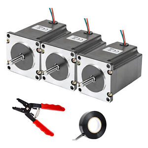 Vevor Nema 23 Stepper Motor 269 Oz in High Torque 2 8a 57x76 Mm For 3d Printer