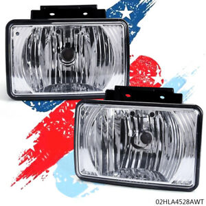Pair Fog Light Replacement Fit Chevy Colorado Gmc Canyon 2004 12 Pickup Bumper