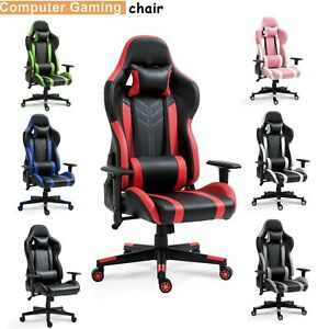 Office Chair Gaming Chair Desk Chair Ergonomic Racing Style Executive Chair New