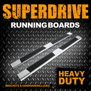 Super Drive 5 Side Bar Running Boards For 2015 2021 Ford F 150 Supercrew Cab