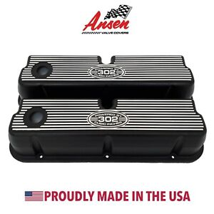 Ansen Usa New Design Ford 302 Tall Valve Covers Powered By 302 Cubic Inches