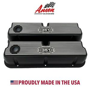 Ansen Usa New Design Ford 351w Tall Valve Covers Powered By 351 Cubic Inches