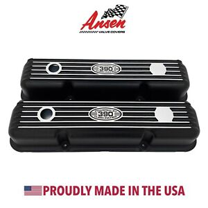 Ansen New Ford Fe 390 Short Valve Covers Black Powered By 390 Cubic Inches