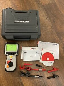 Megger Insulation Tester Mit400 With Case Leads