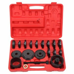 23pcs Aluminum Wheel Bearing Race Seal Bush Driver Set Removal Tool Kit In Box