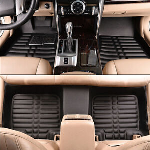 3pc Floor Mats Liners For 2012 2013 2014 2015 2016 Honda Crv All Weather Carpets