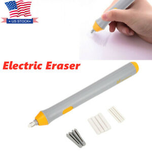 Electric Eraser Kit Automatic Highlights Sketch Drawing Pencil Eraser Electric