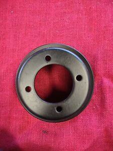 Crank Pulley 2 groove Small Block Ford Sbf 289 302 Black