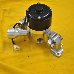 Bbc Big Block Chevy Electric Water Pump High Volume Flow Polished Aluminum