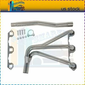 Fit For 1962 1980 Mg Mgb 1 8l L4 4 1 Racing Exhaust Header Ss High Flow