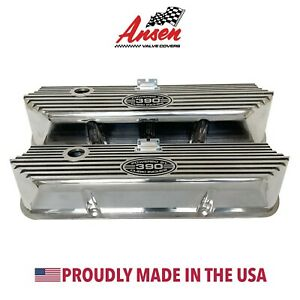 Ford Fe 390 Tall Valve Covers Polished Powered By 390 Cubic Inches Ansen Usa