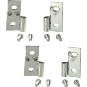 Set Of 2 Door Hinges Left And Right Lh Rh For Jeep Wrangler Cj7 Cj5 Cj6 Pair