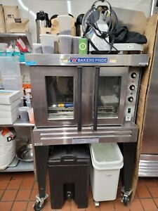 Bakers Pride Cyclone Convection Gas Oven Hose And Racks Incl Temp 150f 550f
