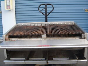 Magikitch n 48 Radiant Charbroiler Commercial Bbq Grill Nat Gas 10 Burners