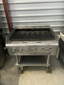 Commercial Natrual Gas Barbeque Bbq Stainless Steel Grill