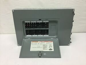 Square D Qoc24us 24 space 48 space Load Center W Circuit Breakers