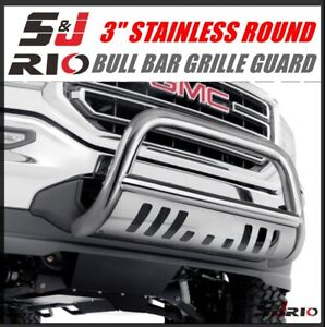 3 S s Round Bull Bar Guard For 1999 2007 Chevy Silverado Classic 1500ld