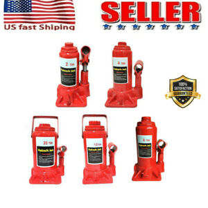2 4 6 8 10 12 20 Ton Emergency Hydraulic Bottle Jack Lift For Truck Bus Car Us