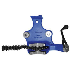 Westward 22xr05 Bench Chain Vise top Screw 1 2 To 8 In