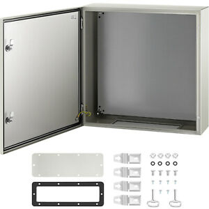 Vevor Steel Electrical Box Electrical Enclosure Box 24x24x8 Carbon Steel Ip65