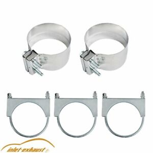 4 Universal Black Turbo Dual Smoker Diesel Exhaust Stack T Pipe System Kit