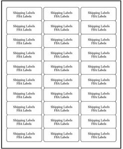 3000 2 625 X 1 Blank Laser Ink Jet Mailing Adhesive Address Labels 1 X 2 5 8