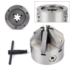 K13 100 6 Jaw 4 Lathe Chuck 100mm Self centering Steel For Cnc Milling Machine