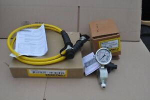 Enerpac Hc7206c Hose W Ga45gc Gauge And Coupler New