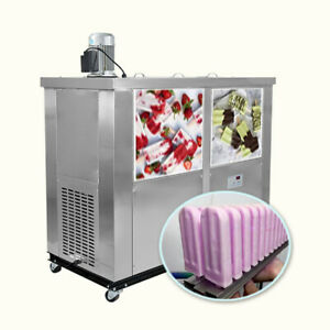 Commercial 6 Slim Mold Sets Popsicle Machine ice Pop Machine ice Lolly Machine