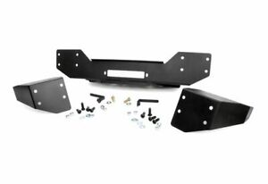 Rough Country Hybrid Stubby Front Winch Mount Bumper For Jeep Wrangler Jk 1059