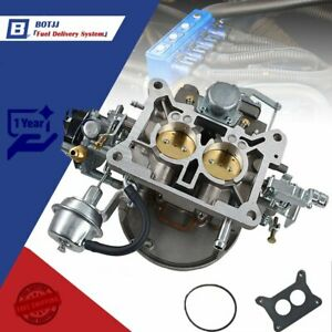 Carburetor Two 2 Barrel Carburetor Carb 2100 For Ford 289 302 351 Cu Jeep Engine