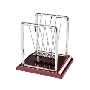Large Newtons Cradle Toy Balance Ball Physics Science Executive Office Gift