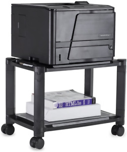 Mount it Under Desk Printer Stand With Wheels 44 Lbs Capacity