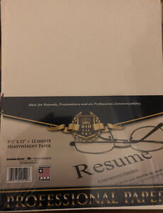 Roaring Spring Stationery Professional Resume Paper 96 Sheets