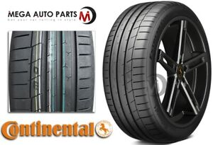 1 Continental Extremecontact Sport 285 35zr19 99y Max Performance Summer Tires