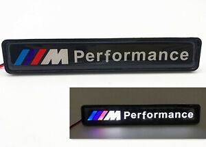 Bmw Led Logo Front Grille Emblem Illuminated Decal Badge Fit For Bmw P