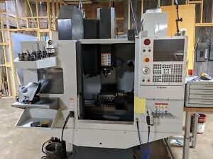 2018 Haas Dm2 Cnc Milling Machine 4th Axis And Lots Of Tooling