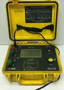 Aemc 4630 4 point Ground Resistance Tester Tested
