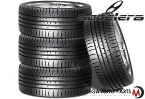 4 New Accelera Phi 245 35zr19 93y Xl All Season Ultra High Performance Tires