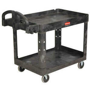 Rubbermaid Commercial Products Fg452088bla Utility Cart 500 Lb Load Cap