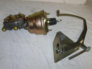 1955 59 Gmc Chevy Truck 7 Dual Power Brake Booster Zinc Pedal Assembly Display